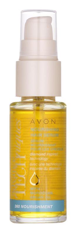 Avon Advance Techniques 360 Nourishment sérum nutritivo para o cabelo com óleo de argan marroquino