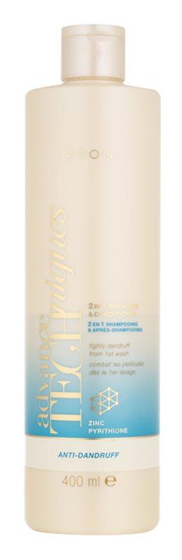 Avon Advance Techniques Anti-Dandruff shampoing et après-shampoing 2 en 1 anti-pelliculaire
