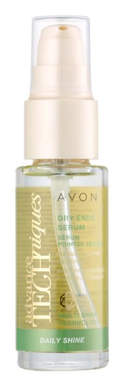 Avon Advance Techniques Daily Shine Serum für trockene Haarspitzen