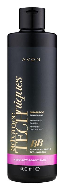 Avon Advance Techniques Absolute Perfection shampoing BB régénérant et protecteur