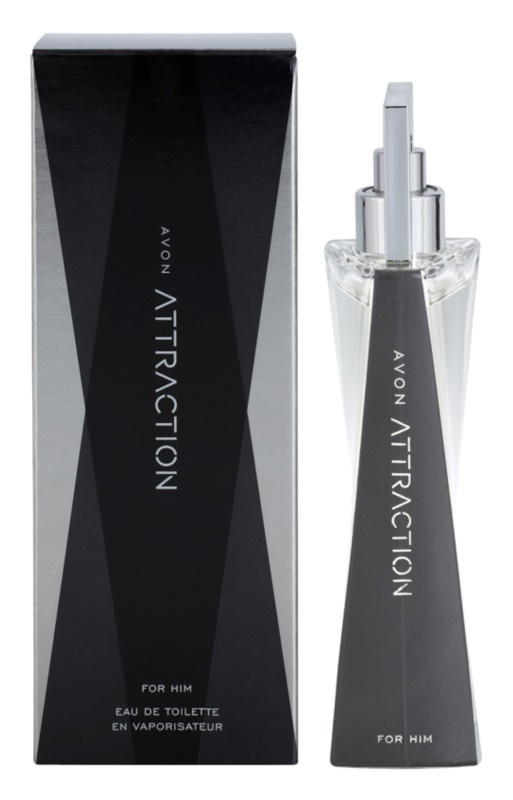 Avon Attraction for Him eau de toilette per uomo 75 ml