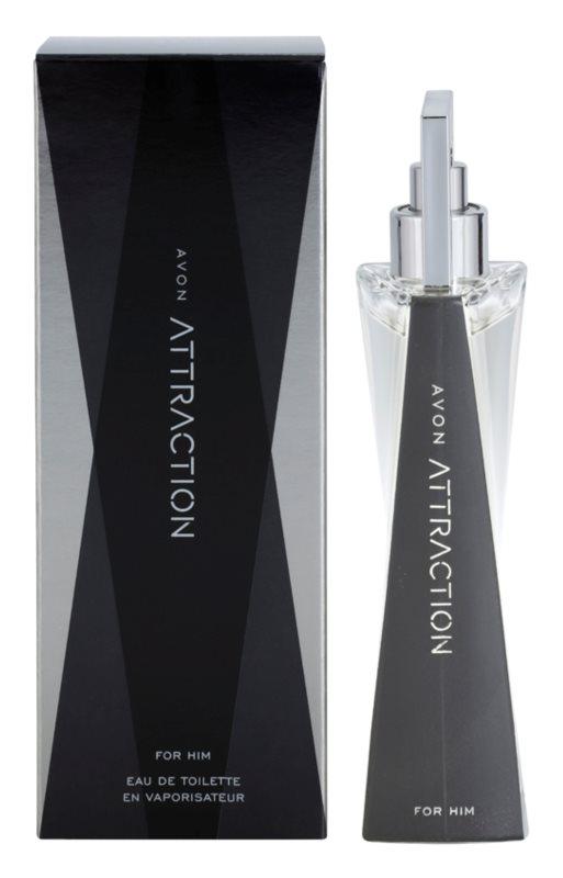 Avon Attraction for Him Eau de Toilette voor Mannen 75 ml
