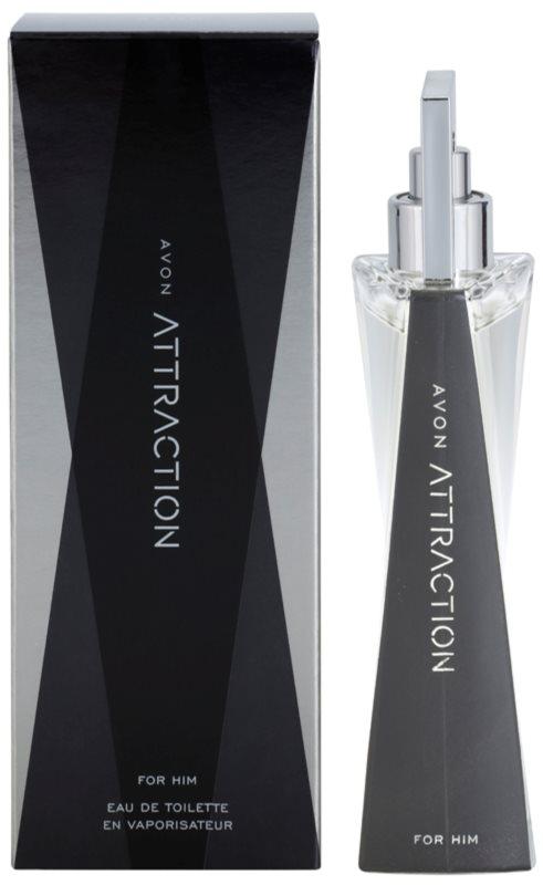Avon Attraction for Him toaletní voda pro muže 75 ml