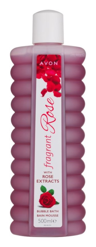Avon Bubble Bath mousse pour le bain à l'extrait de rosier des chiens