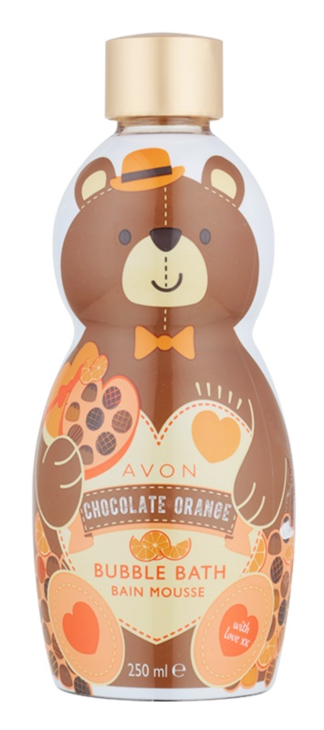 Avon Bubble Bath Bubble Bath with Chocolate and Orange Aroma