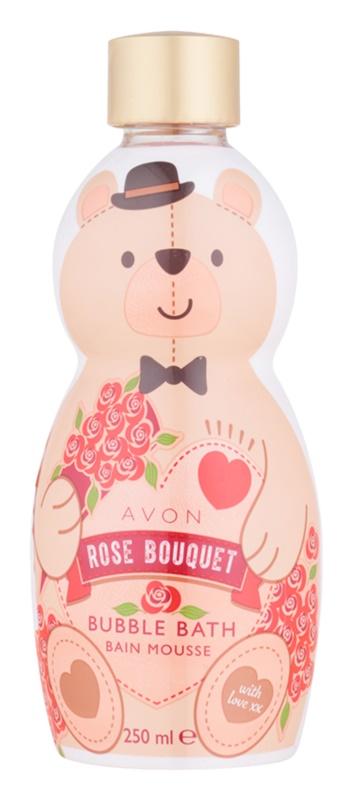 Avon Bubble Bath espuma de banho com aroma de rosas
