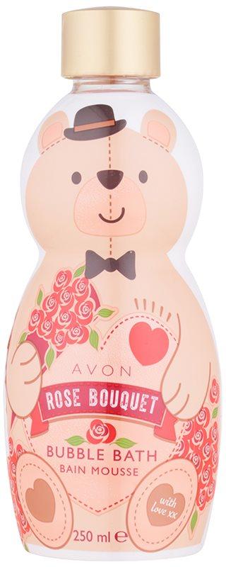 Avon Bubble Bath espuma de baño con olor a rosa