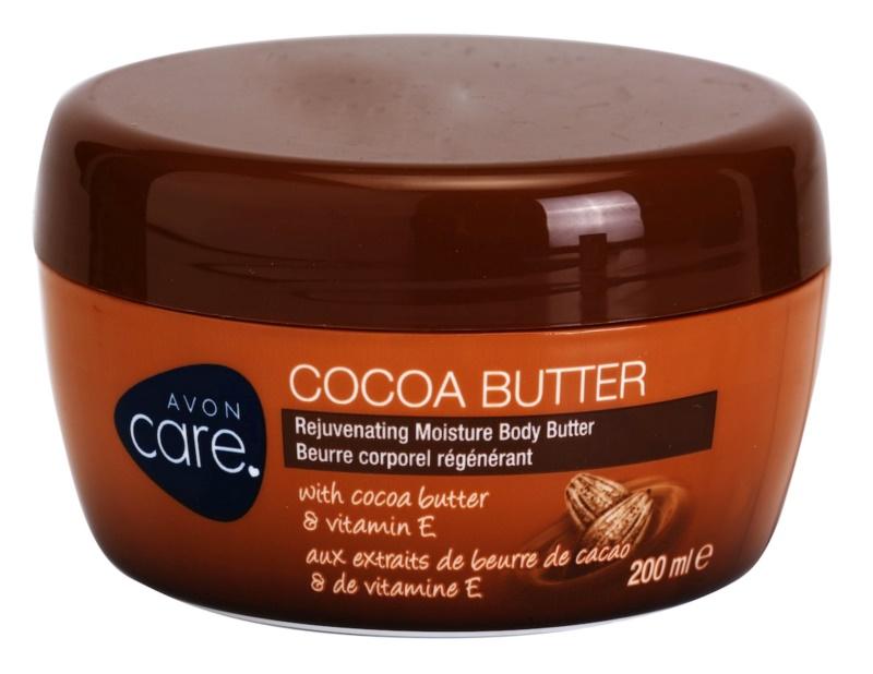 Avon Care odmładzający, nawilżający krem do ciała z masłem kakaowym i witaminą E
