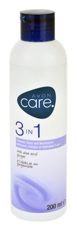 Avon Care čisticí pleťový gel 3 v 1 s výtažky z aloe a zázvoru