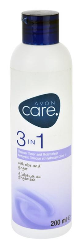 Avon Care gel de curatare 3 in 1 cu extracte de aloe si ghimbir