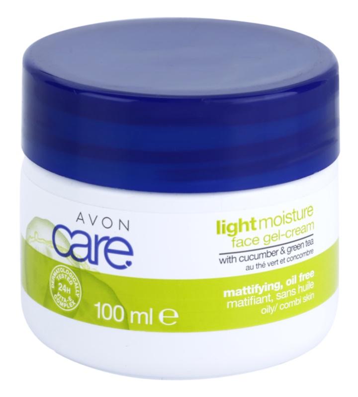 Avon Care crème-gel rafraîchissante aux extraits de concombre et de thé vert
