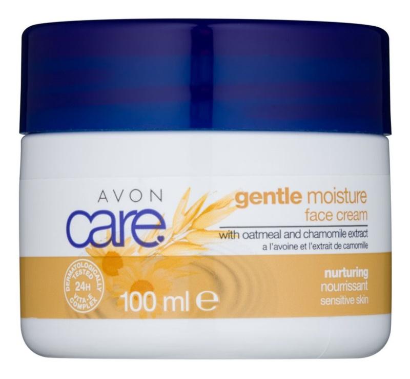 Avon Care Feuchtigkeit spendende Gesichtscreme mit Hafer- und Kamilleextrakten