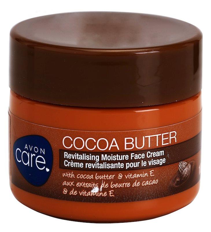 Avon Care revitalizační hydratační pleťový krém s kakaovým máslem