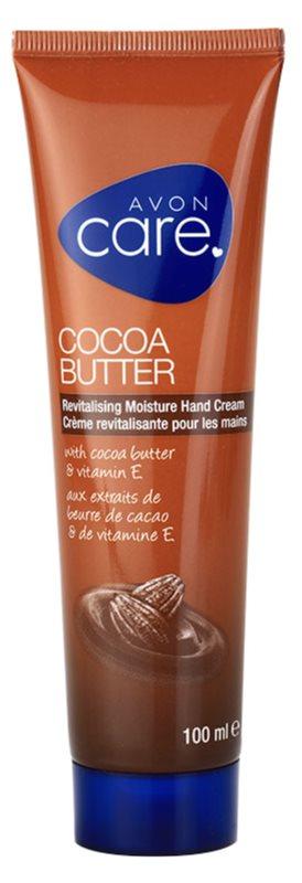Avon Care revitalizirajuća hidratantna krema za ruke s kakaovim maslacem i vitaminom E