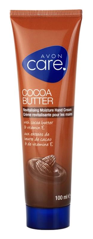 Avon Care відновлюючий зволожуючий крем для рук з маслом какао та вітаміном Е