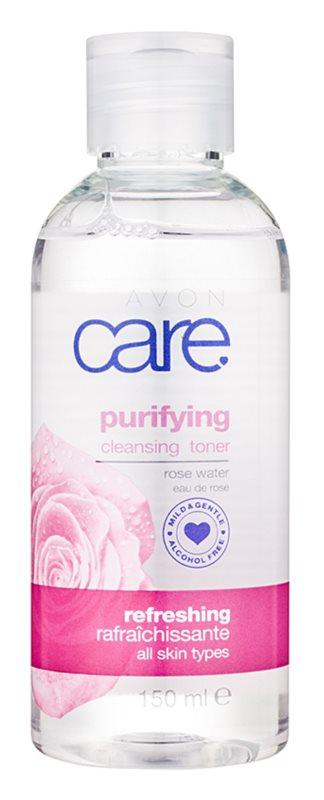 Avon Care lotion tonique purifiante pour tous types de peau
