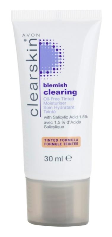 Avon Clearskin Blemish Clearing Getinte Hydtarerende Crème voor Problematische Huid