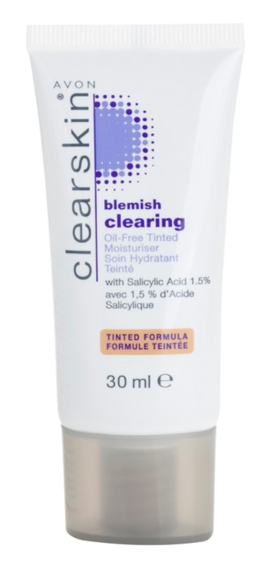 Avon Clearskin  Blemish Clearing Tinted Hydrating Cream For Problematic Skin