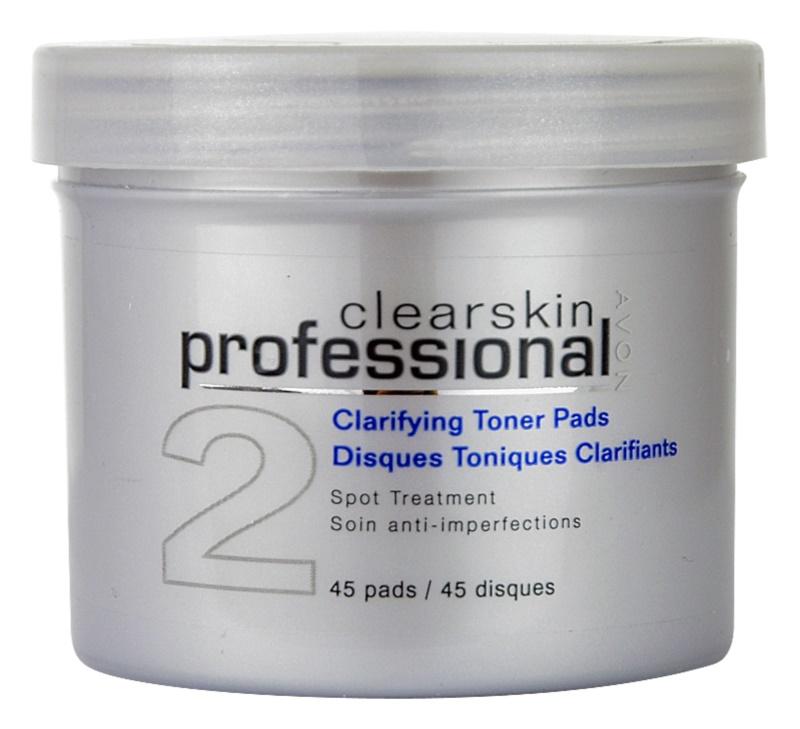 Avon Clearskin  Professional tisztító vattakorong