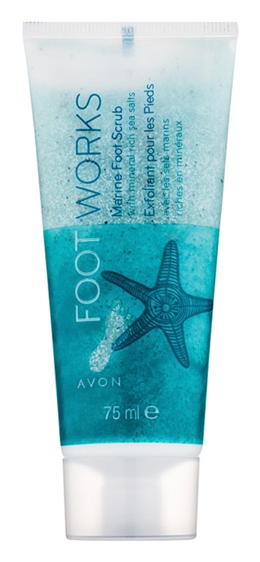 Avon Foot Works Healthy exfoliante para pies