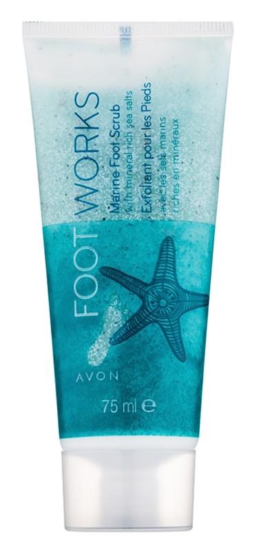 Avon Foot Works Healthy peeling na nohy