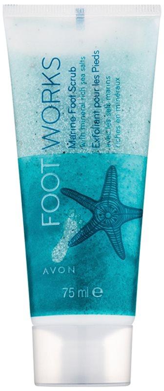 Avon Foot Works Healthy peeling para os pés