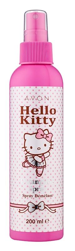Avon Hello Kitty spülfreie Pflege für die leichte Kämmbarkeit des Haares
