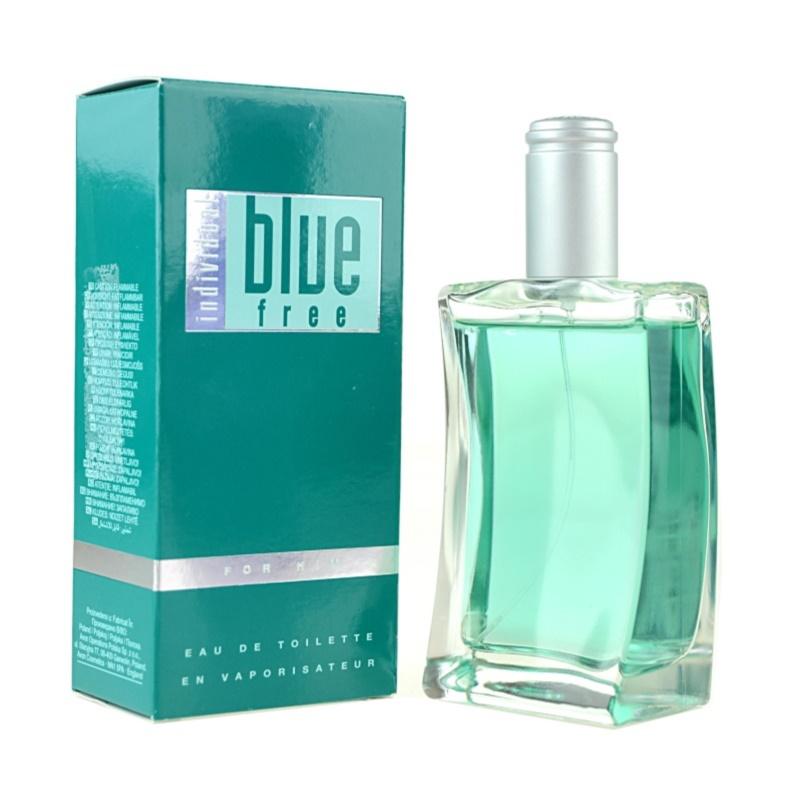 Avon Individual Blue Free Eau de Toilette Herren 100 ml