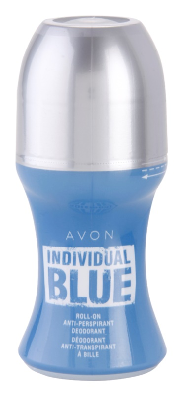 Avon Individual Blue for Him deodorant roll-on pre mužov 50 ml
