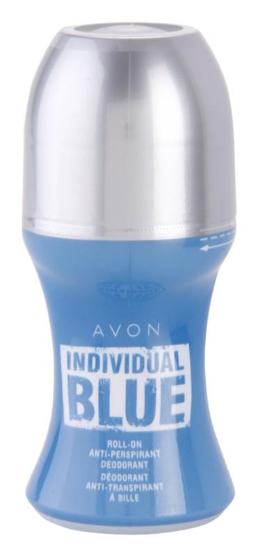 Avon Individual Blue for Him deodorant roll-on pro muže 50 ml