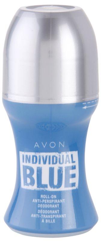 Avon Individual Blue for Him Αποσμητικό roll-on για άνδρες 50 μλ