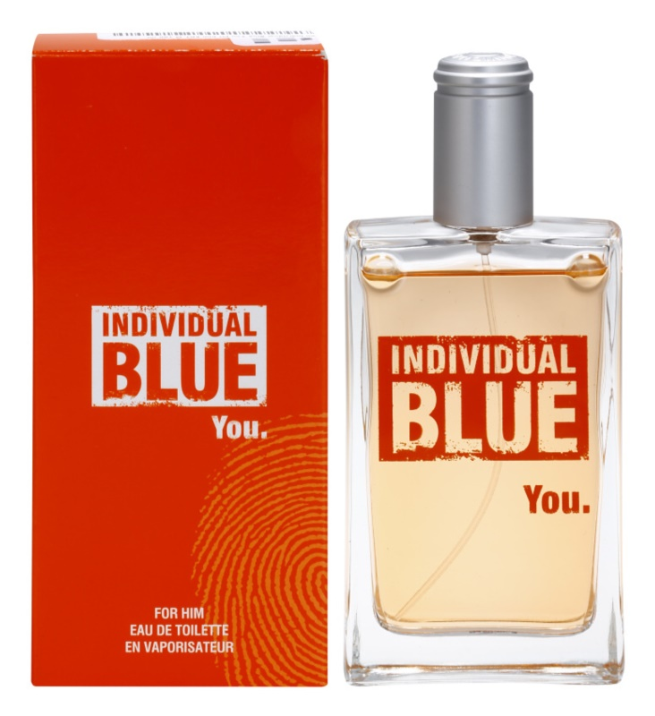 Avon Individual Blue You Eau de Toilette voor Mannen 100 ml