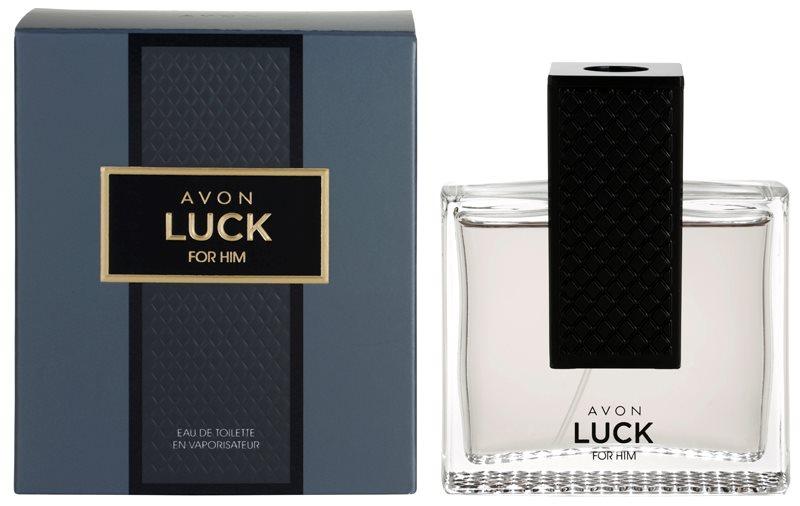 Avon Luck for Him eau de toilette férfiaknak 75 ml