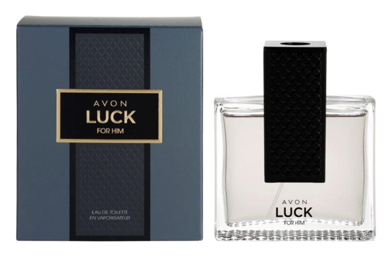 Avon Luck for Him Eau de Toilette for Men 75 ml