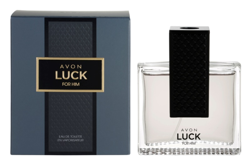 Avon Luck for Him eau de toilette pentru bărbați 75 ml