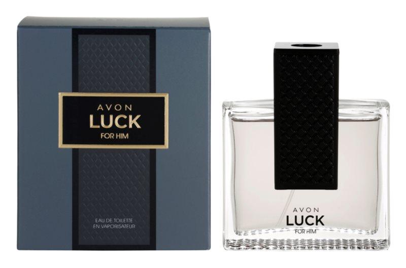 Avon Luck for Him toaletní voda pro muže 75 ml