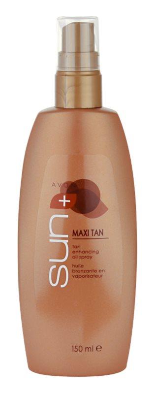 Avon Sun Maxi Tan Olie voor Versterking van de Bruining  in Spray