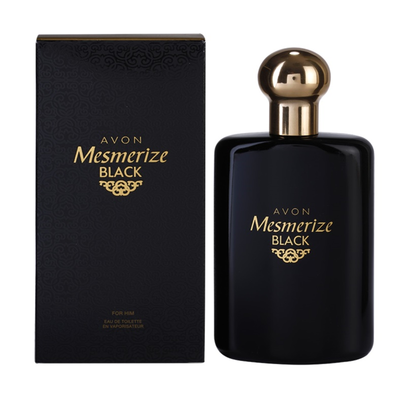 Avon Mesmerize Black for Him Eau de Toilette voor Mannen 100 ml