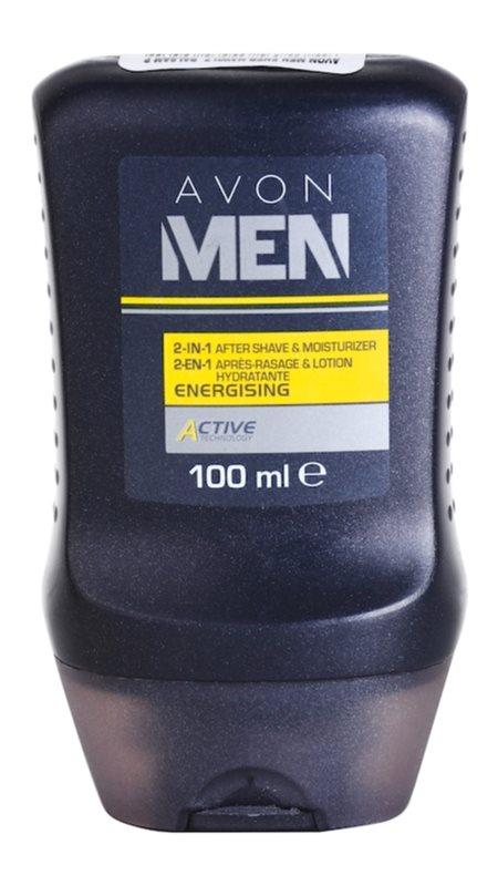 Avon Men Energizing vlažilni balzam za po britju 2 v 1