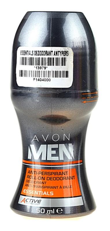 Avon Men Essentials deodorant antiperspirant roll-on