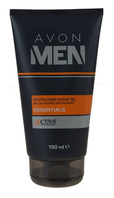 Avon Men Essentials gel rivitalizzante per rasatura