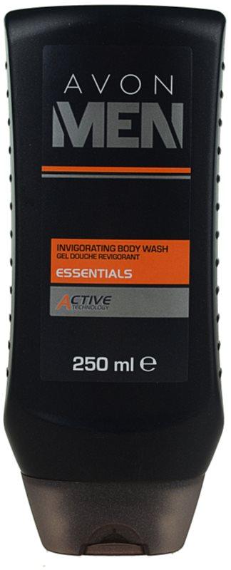 Avon Men Essentials gel de ducha refrescante