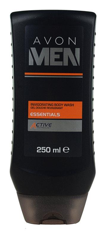 Avon Men Essentials odświeżający żel pod prysznic