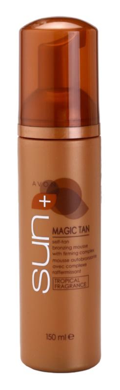 Avon Sun Magic Tan spuma autobronzanta complex pentru fermitatea corpului