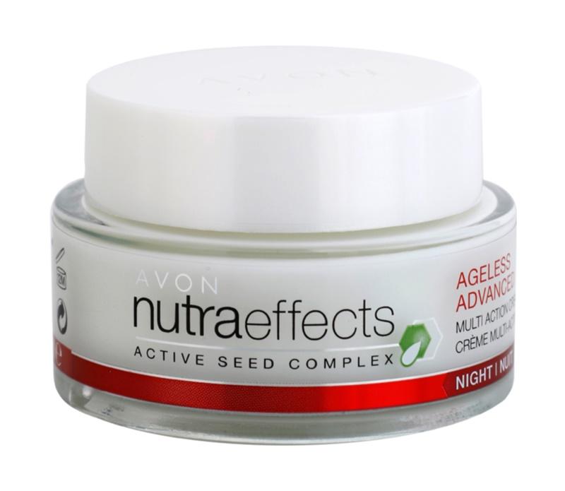 Avon Nutra Effects Ageless Advanced intensive Nachtcreme mit verjüngender Wirkung