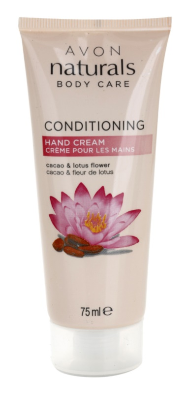 Avon Naturals Body crema nutritiva de maini