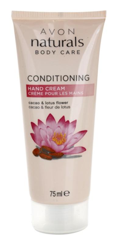 Avon Naturals Body nährende Crem für die Hände