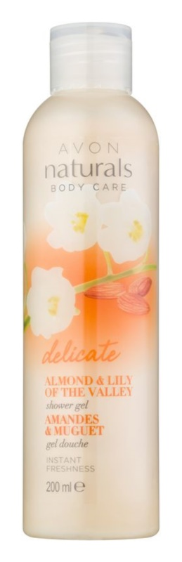 Avon Naturals Body Gentle Body Wash with Almond and Lily of the Valley