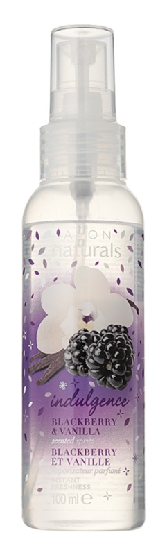 Avon Naturals Fragrance Body Spray with Blackberry and Vanilla