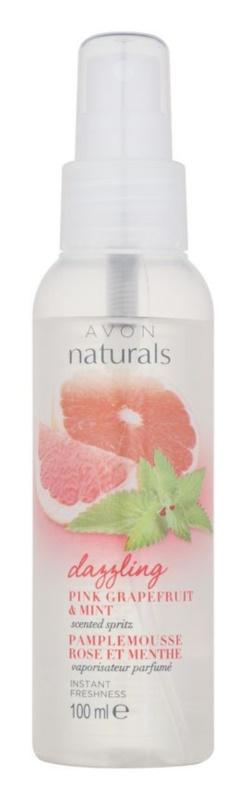 Avon Naturals Fragrance spray corporal con pomelo y menta